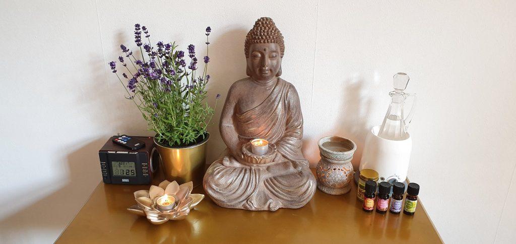 Dekorative Details in der ThaiMoonSpa Massage