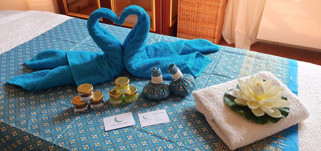 Dekorative Details - ThaiMoonSpa Massage