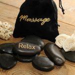 Hot-Stone Massage I ThaiMoonSpa Massage Leipzig