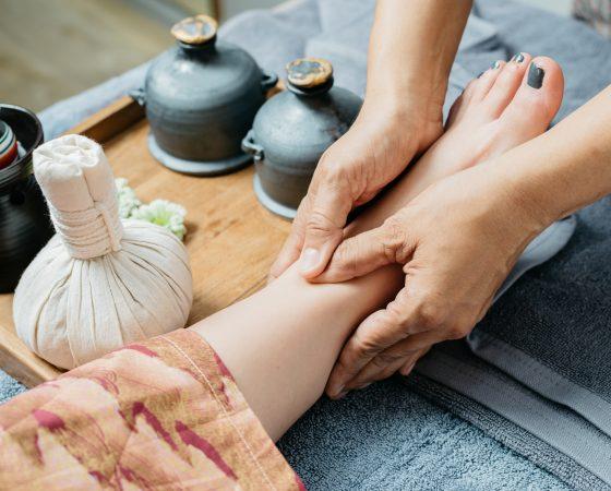 Thai Fuß Massage