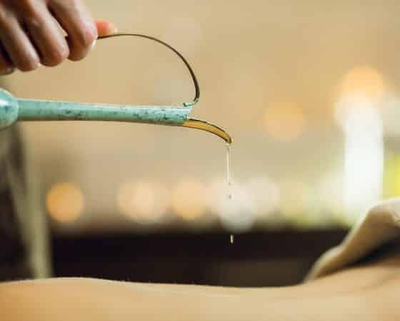 Aroma Öl Massage (leicht)