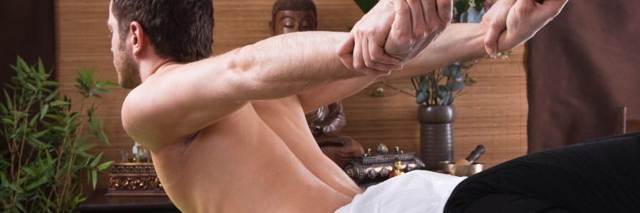 Traditionelle Thai Massage (ohne Öl)